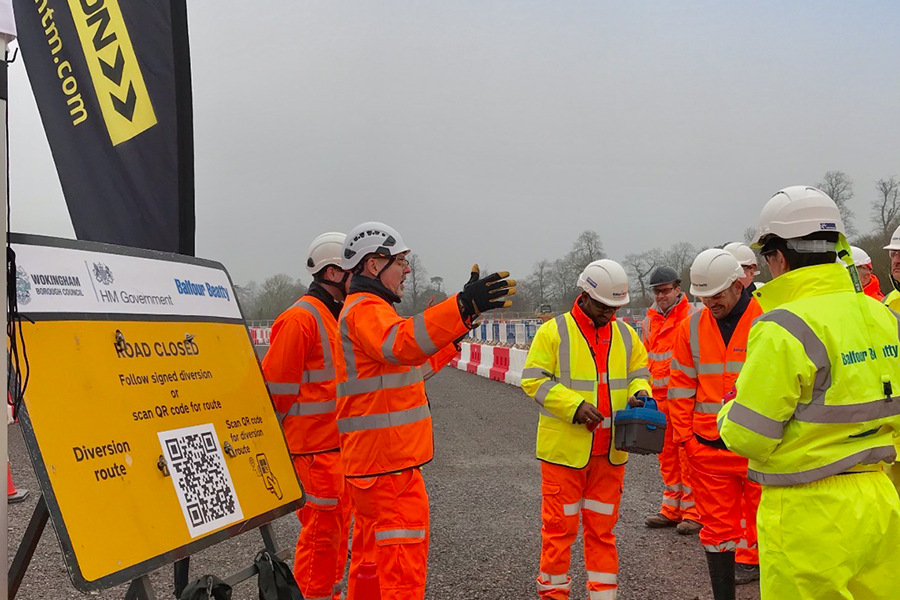 CHEVRON JOINED BALFOUR BEATTY THIS WEEK FOR THEIR 'BOOTS ON THE GROUND' EVENT