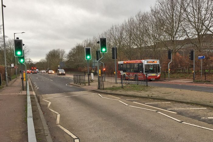 'Smart' crossings for A418 Oxford Road