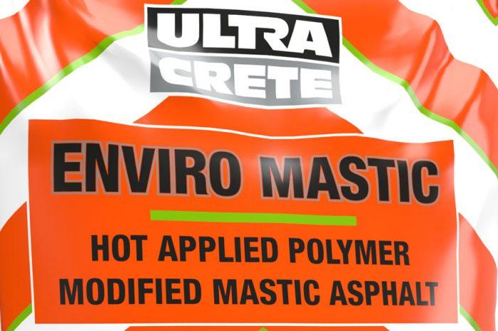 UltraCrete | UltraCrete Launch Enviro Mastic – A New, Hot Applied, Mastic Asphalt for Long Term Repairs