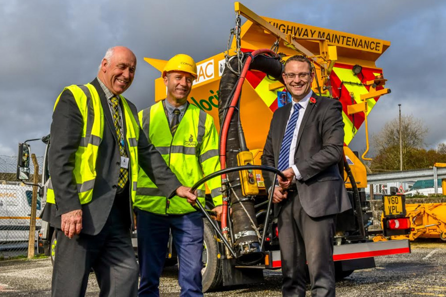 Velocity | New machine opens up new areas for innovative pothole repairs