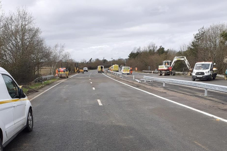 Major A21 maintenance finishes early