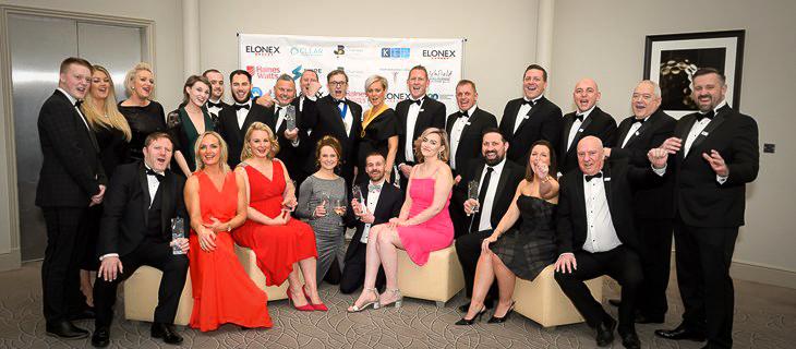 Crown Highways at the SLT awards