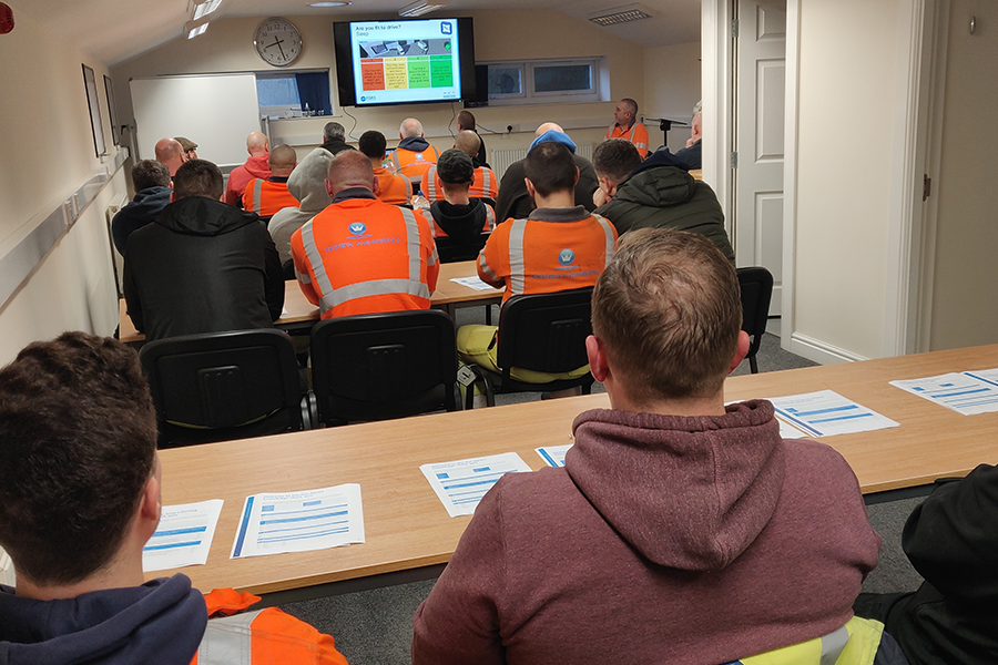 Crown Highways Training takes place