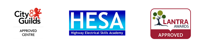Crown accredited training logos