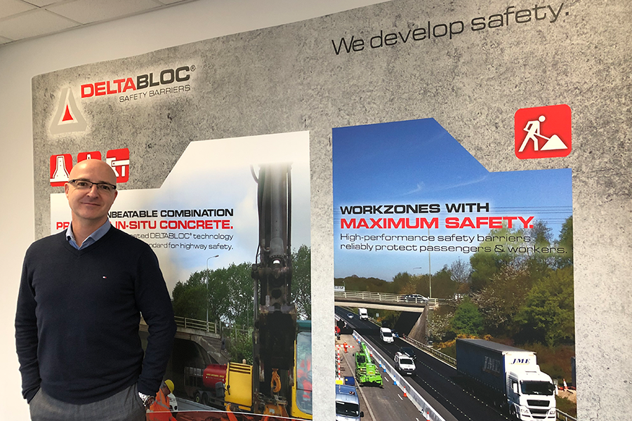 DELTA BLOC UK | Key addition to the team as Ian Davey becomes Commercial Manager