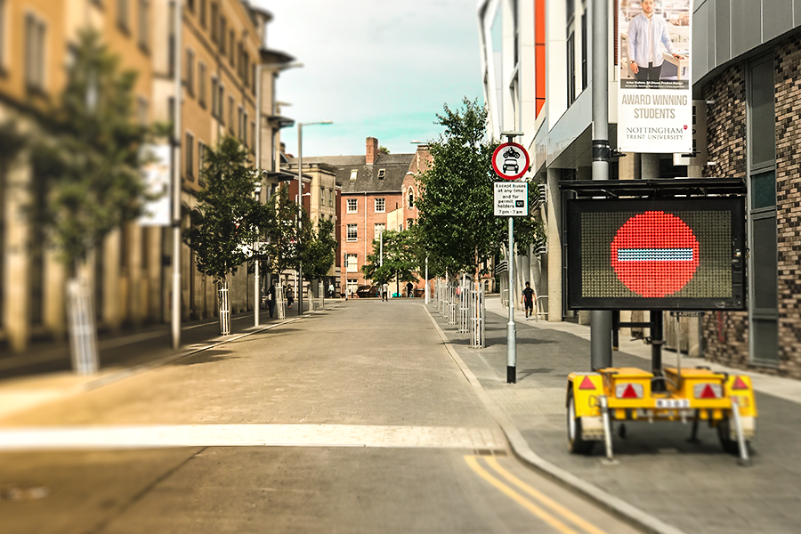The MVIS VMS-A is the perfect fit for inner city urban environments
