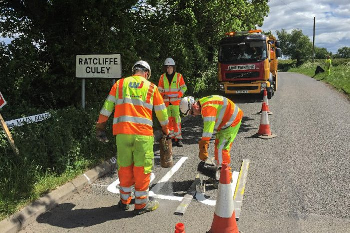 WJ | Leicestershire choose the sustainable roadmarking option