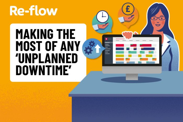 Re-flow | Making the most of any 'unplanned downtime'