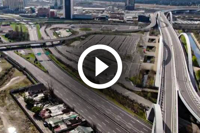 WATCH THE VIDEO: Are empty highways like this on the way to the UK?