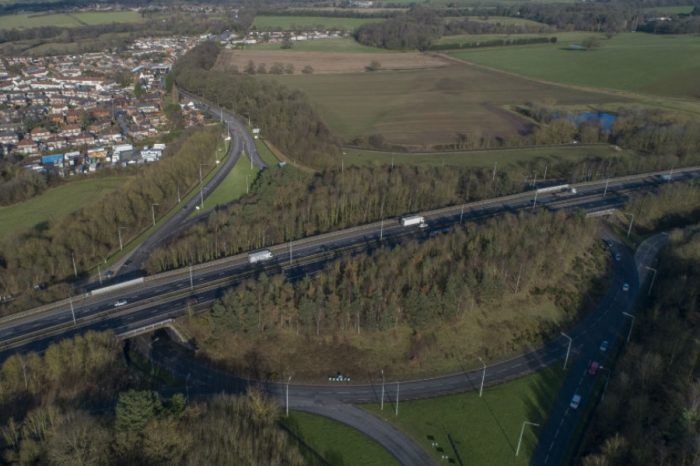 Government support plans to build £200m M54 and M6 link road