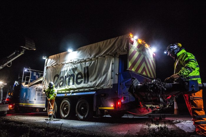 Carnell | VIDEO Safer, healthier and happier journeys for customers by on-site recycling of filter drain material