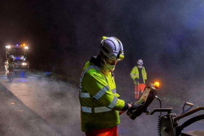 Eurovia Surfacing | Eurovia Surfacing teams continue to deliver critical works for Highways England