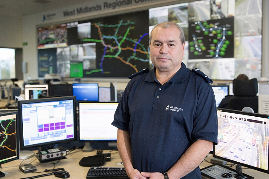 Highways England helping emergency services in the West Midlands
