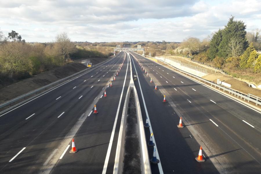 Kier   Kier Highways reaches major milestones on M20 and M23 projects