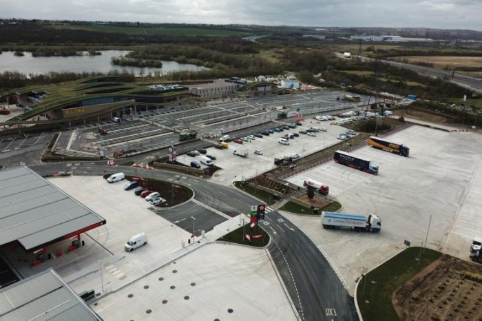New £64m M1 service station opens