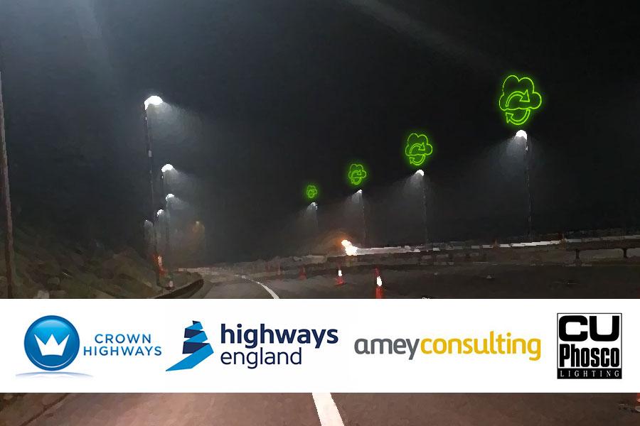 Crown Highways | Innovative lighting scheme delivered in Area 10