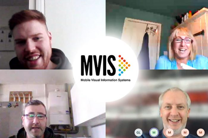 MVIS staff are all set up for home working