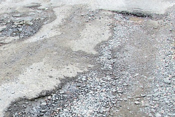 Drivers biggest concern in 2020 was poor state of local roads
