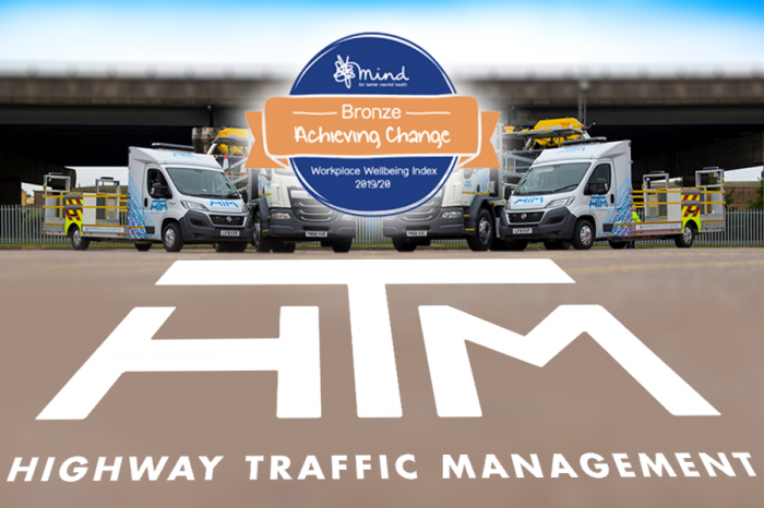 HTM | Highway Traffic Management achieves Bronze at Mind's Workplace Wellbeing Awards