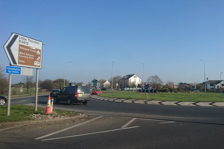 £150 million A585 Windy Harbour to Skippool improvement under way