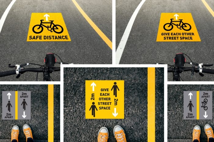 WJ | WJ Group geared up to demarcate pop-up cycle and walking routes