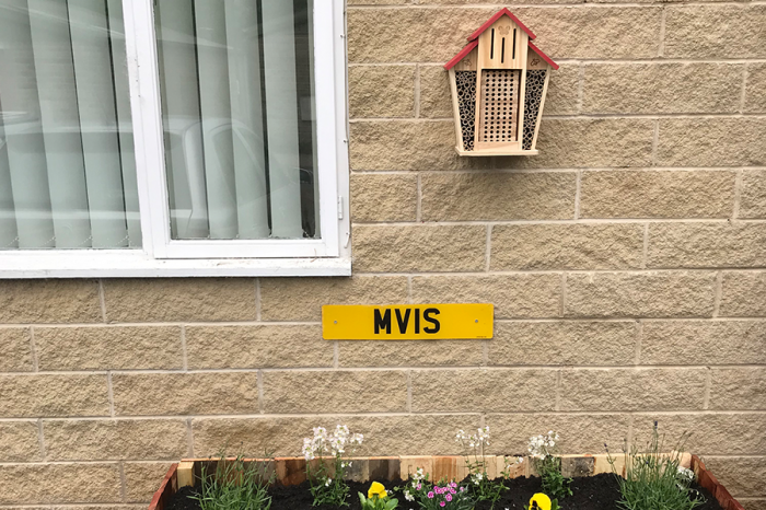 MVIS houses bees and plants at HQ
