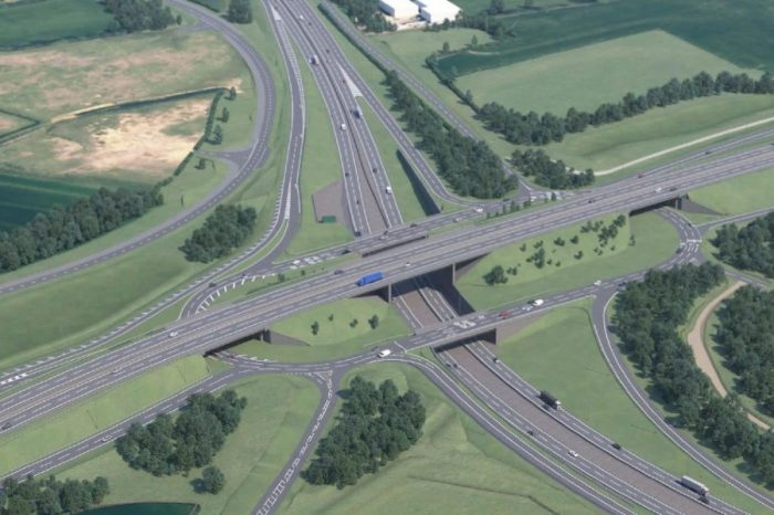 Updated plans for A428 Black Cat and Caxton Gibbet upgrade go on show