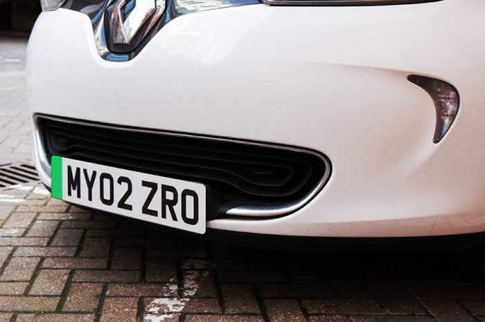 Green number plates to be introduced for electric vehicles