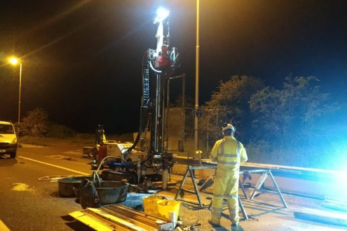 Highways England digs deep to prepare for A12 improvements
