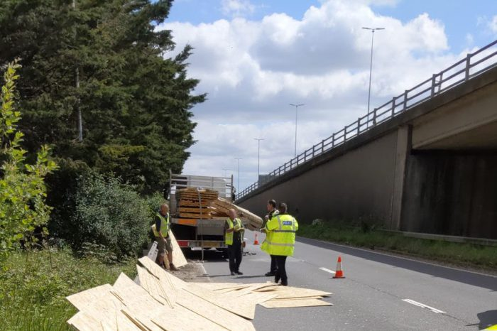 The danger of unsecured loads – Highways England reminds drivers to check before setting off this summer