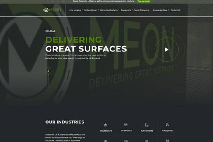 Meon | Meon announces new website alongside launch competition