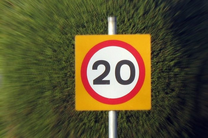 1/3 of all UK towns to implement 20mph zones