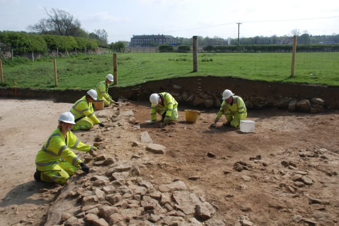 21st century road upgrade sheds new light on Roman treasures, coins, roads – and potholes!
