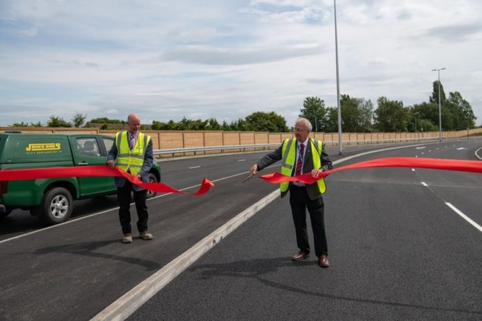 A49 link road completed