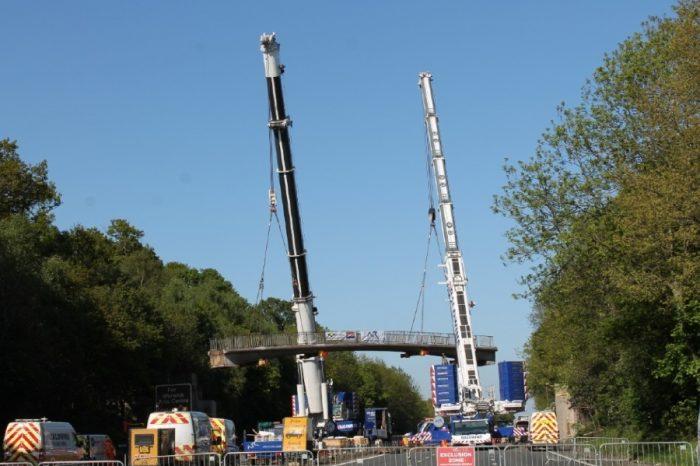 New footbridge to reunite Warwickshire communities