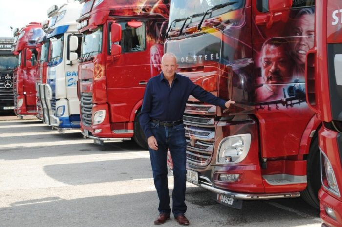 Haulier backing Highways England safety calls after runaway tyre smashes into HGV
