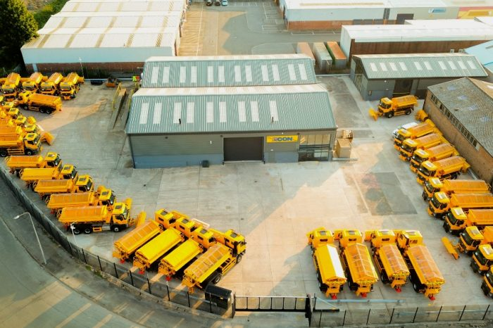 Winter maintenance giant ploughs £2m into new service hub and parts distribution
