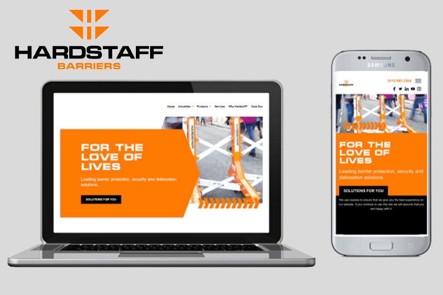 Hardstaff Barriers | New website gives easy access to safety barrier systems