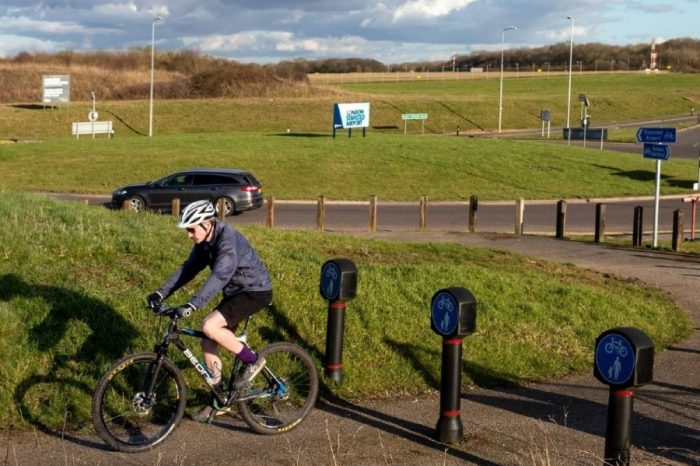 Highways England encouraging the public to get cycling