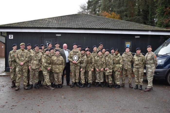 Ringway Jacobs   Awarded Armed Forces Covenant Gold Award