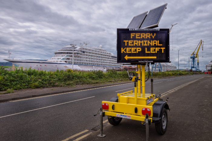Mobile VMS | Brexit and Covid communication control at Ports and Eurotunnel