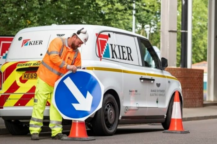 Kier trials electric van based on a standard London taxi