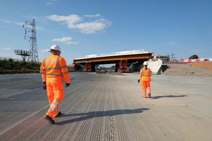 Traffix | Case Study - M42 Bridge Installation HS2