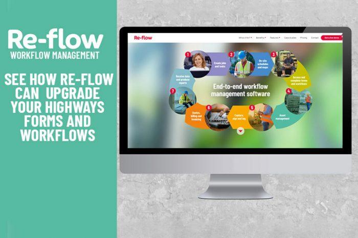 Re-flow | Re-flow Highways Workflow Management launches new website
