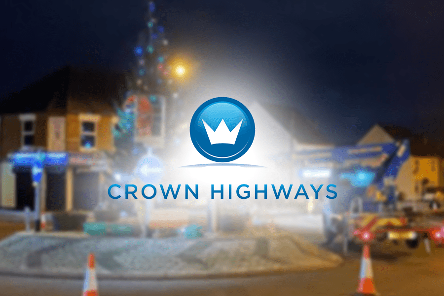 Crown Highways | Christmas has arrived in Burntwood with the help of Crown Highways