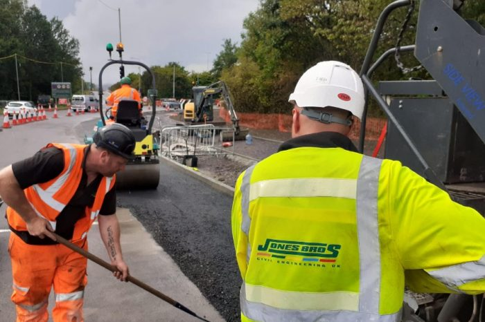 Jones Bros completes highways scheme and turns attention to eco-friendly street lighting