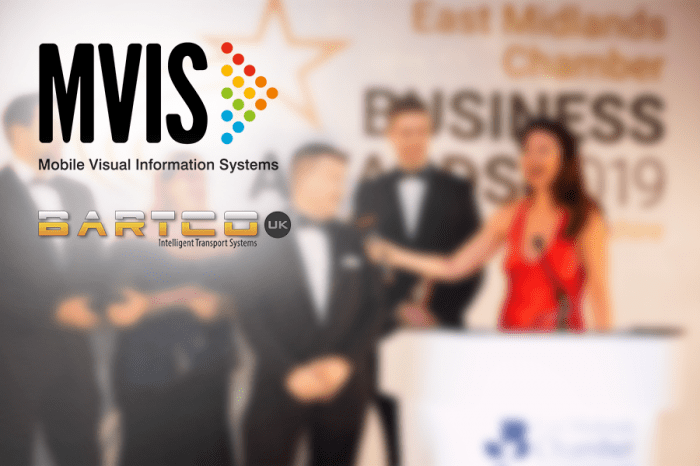 MVIS & Bartco UK   A reason to celebrate: The East Midlands Chamber of Commerce Awards