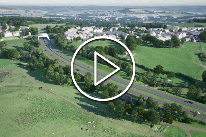How Mottram's new £228m bypass could look