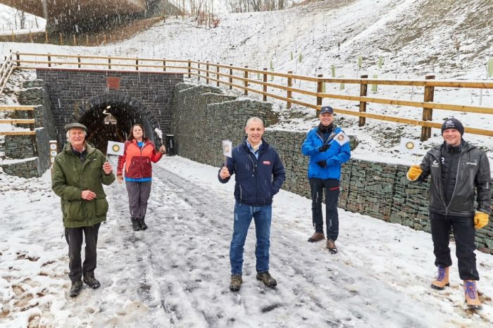 A66 Keswick to Threlkeld trail reopens