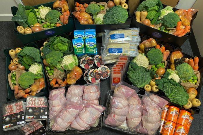 Crown Highways | Crown Highways donate 10 Christmas Dinner Hampers to local food bank